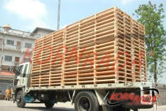 CUBIX LONG WOOD PALLETS