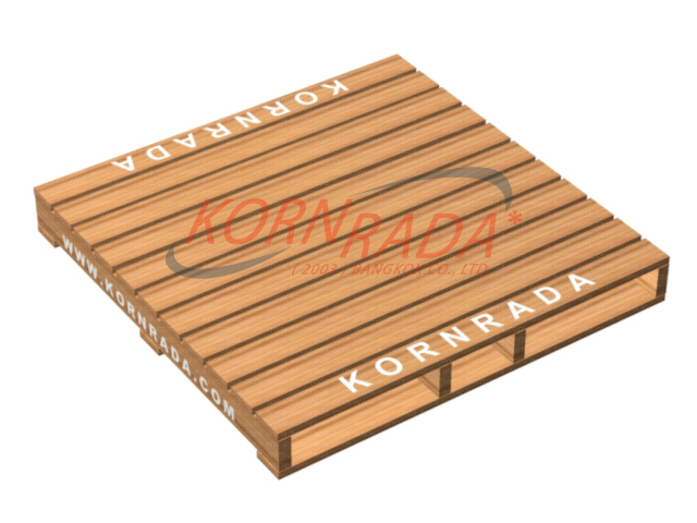 Kornrada! : Wood Pallets : Two Ways Entry -> Four Stringers