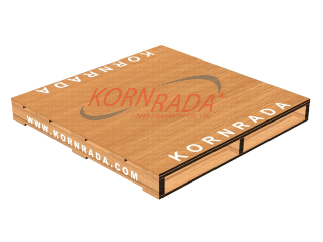 Kornrada! : Wood Pallets : Two Ways Entry -> Panel Deck (Basic)
