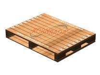 Kornrada! : Wood Pallets : Four Way Entry -> Reversible Stringers