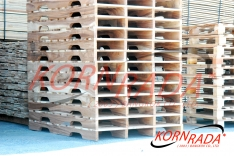 4 WAY STRINGERS WOOD PALLETS