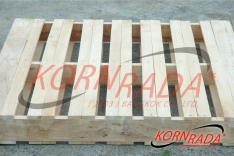 HEAVY-DUTY WOOD PALLETS (2,4)