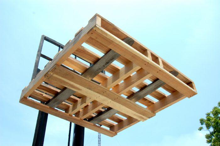 พาเลทไม้ สี่คาน | 4 Stringers Wooden Pallets